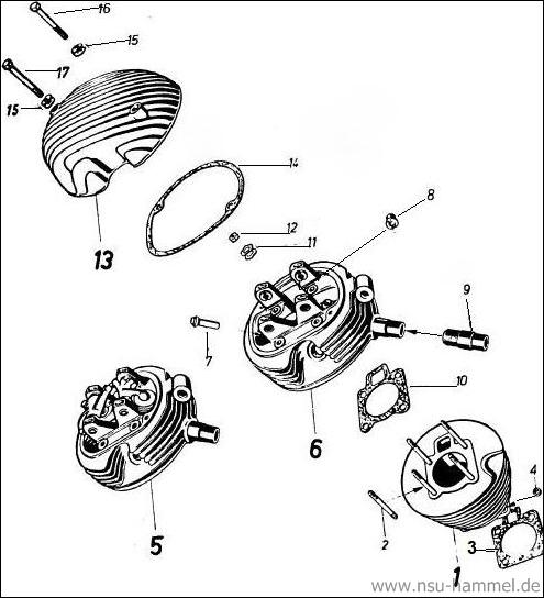 Zylinder 4 Takt Fox Original Ersatzteileliste Seite 8