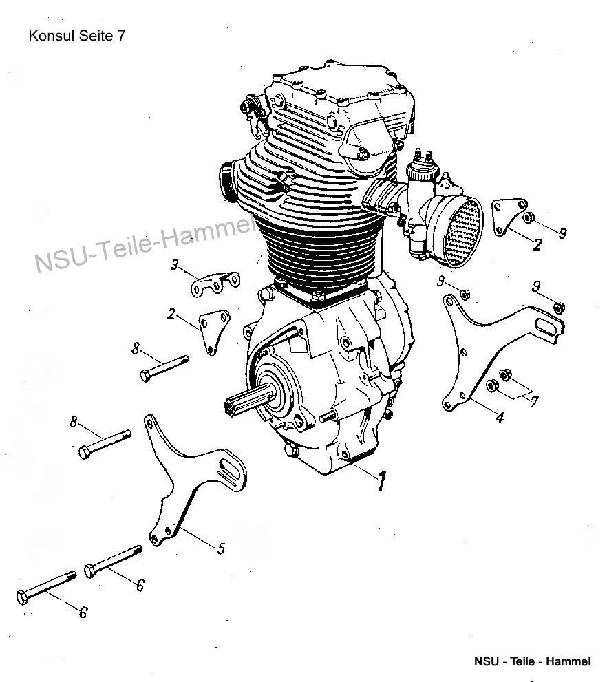 Konsul Original NSU Ersatzteileliste Seite 7
