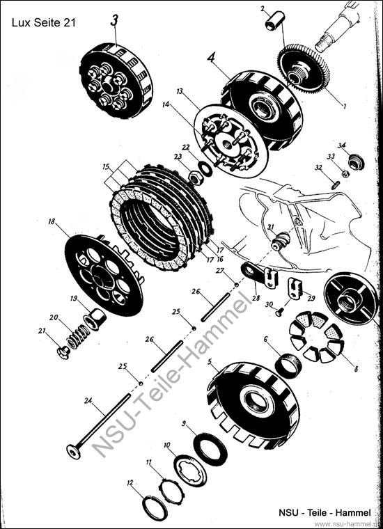 Superlux Original NSU Ersatzteileliste Seite 21