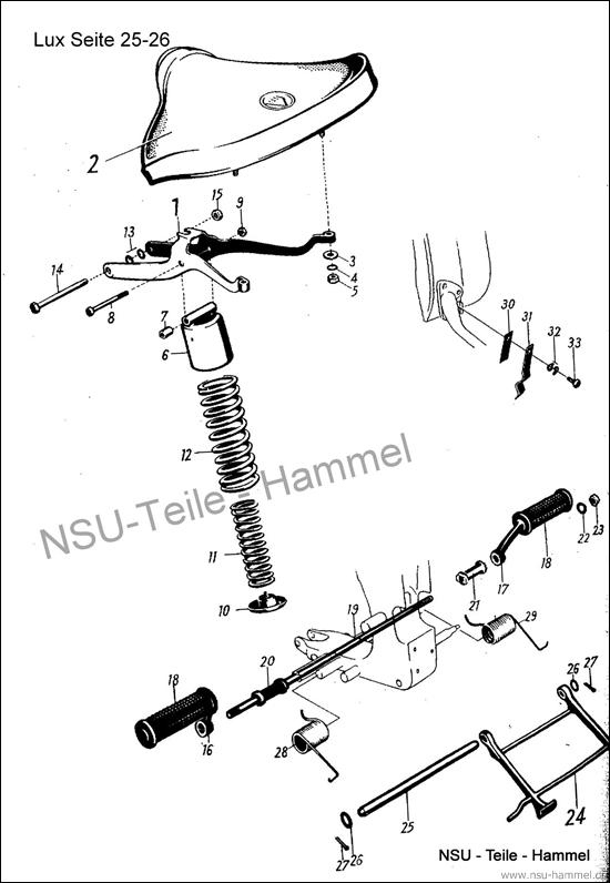 Lux-Superlux Original NSU Ersatzteileliste Seite 25