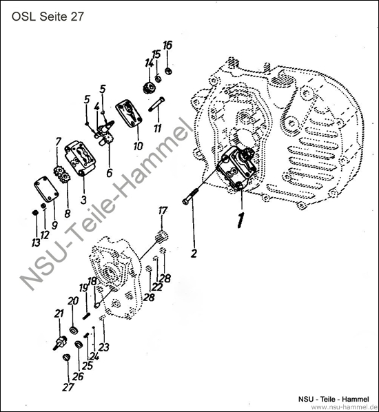 OSL-251 Original NSU Ersatzteileliste Seite 27