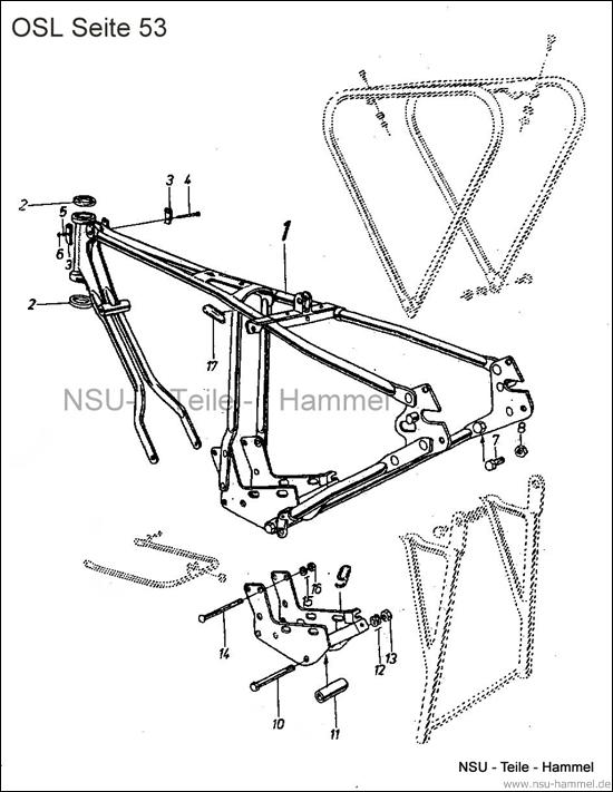 OSL-251 Original NSU Ersatzteileliste Seite 53