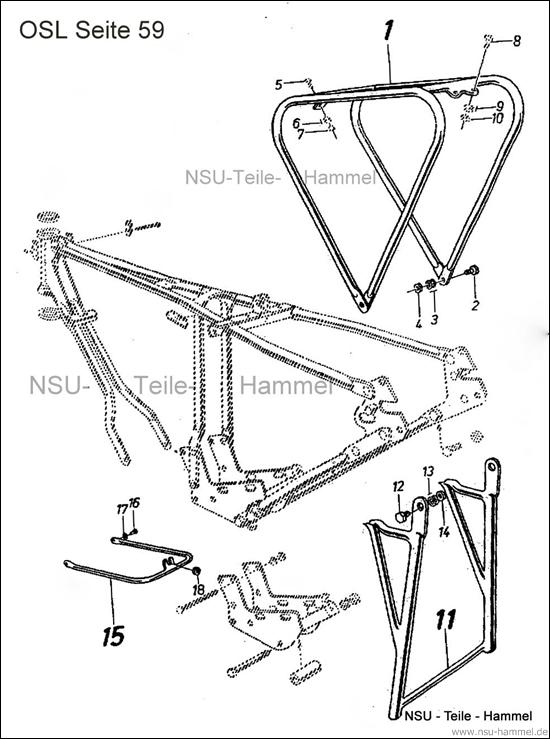 OSL-251 Original NSU Ersatzteileliste Seite 59