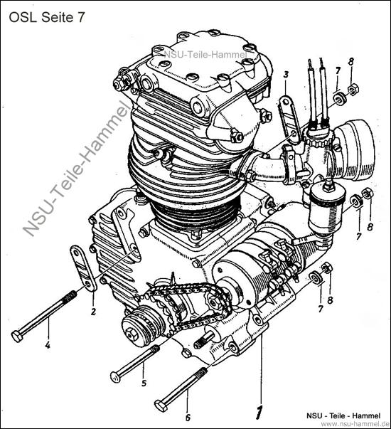 OSL-251 Original NSU Ersatzteileliste Seite 7