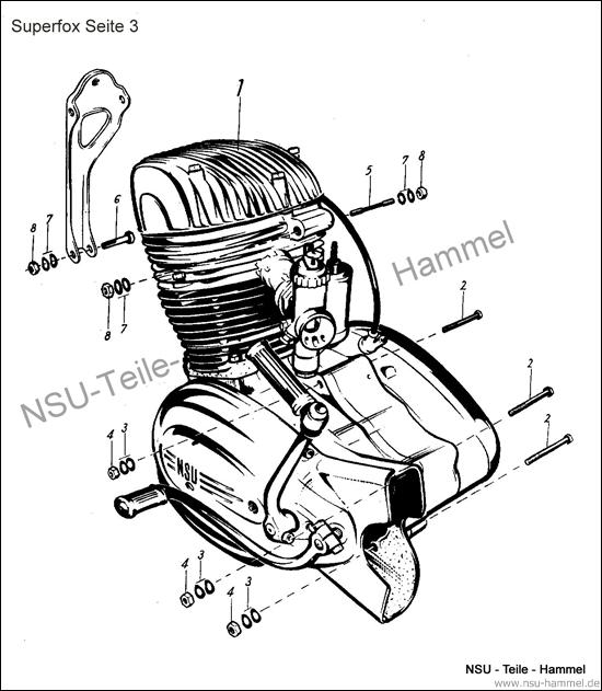 Superfox Original NSU Ersatzteileliste Seite 3