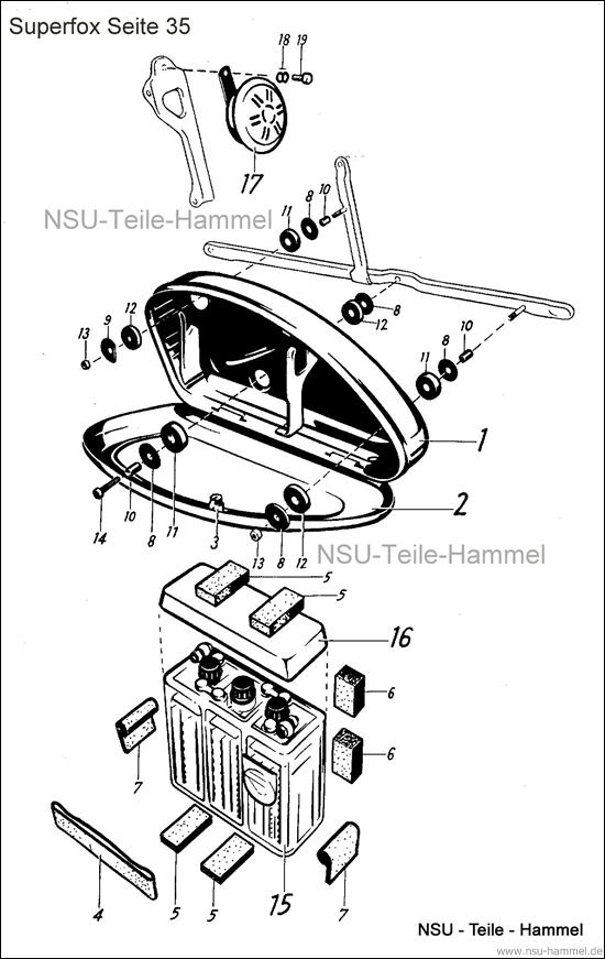 Superfox Original NSU Ersatzteileliste Seite 35